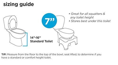 Squatty Potty Ghost Acrylic Toilet Stool, 7'' by Squatty Potty (Image #4)