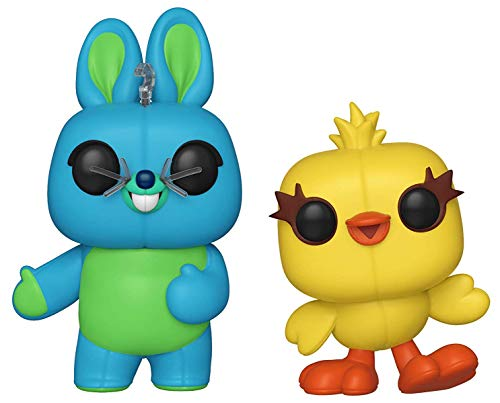 Funko Pop! Disney: Toy Story 4 - Bunny and Ducky Collectible Figures Set of 2 - in Bubble - Pop Bunny