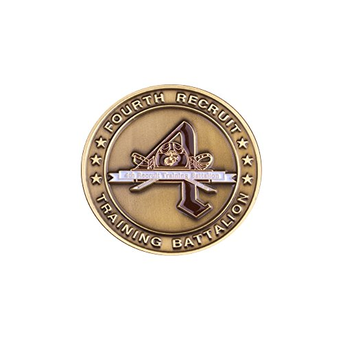 4th Recruit Training Commemorative Coin (Battalion Challenge Coin)