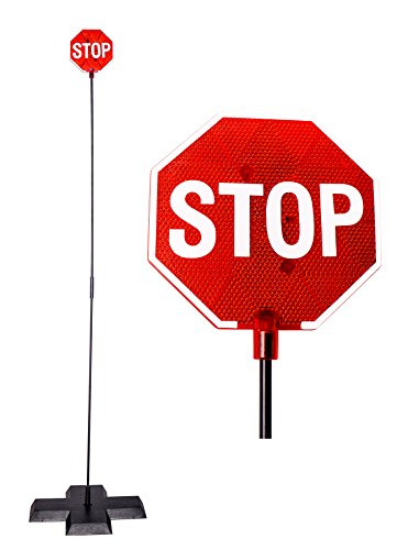 Cobra Led (Cobra Tuning LED Stop Sign Parking Assistant for Garage with Flashing Signal)