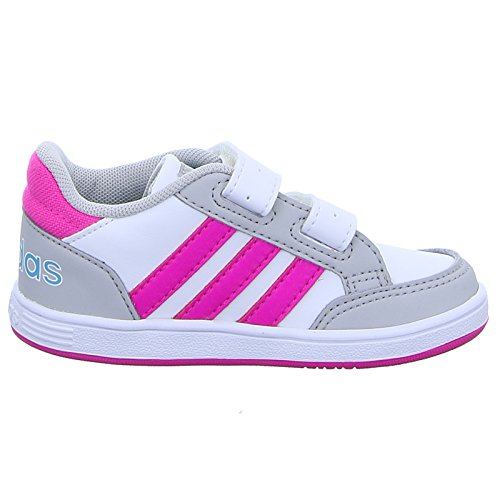 check out b8df4 fed00 Adidas Hoops CMF INF Zapatillas Niña velcros (26 EU) Amazon.es Zapatos y  complementos