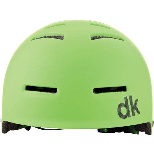 DK Synth Green BMX/Skating Helmet by DK Bicycles   B00MYO38KE