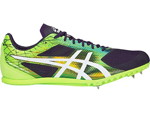 ASICS Unisex Cosmoracer Md Track & Field Shoes, 8.5W, Night Shade/White