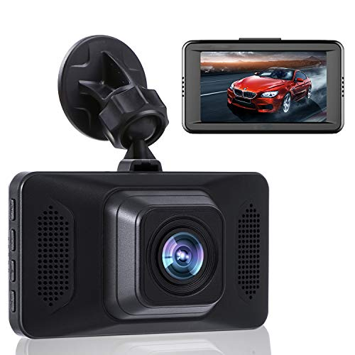 Dash Camera for Cars FHD 1080P Front Dash Cam with Night Vision 2 Mounts (7072H) D.DA.D
