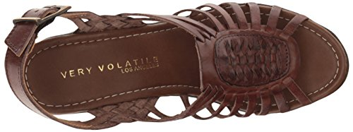 Very Volatile Women's Prolific Wedge Sandal Brown lVxOy6SDH