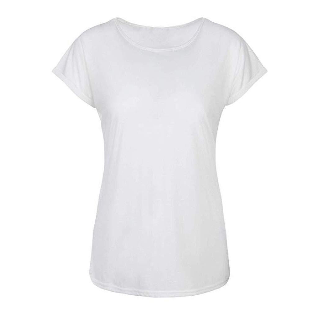 Lotus.Flower Women Summer Short Sleeve T-Shirt Vest Casual Tunic Shirt Tops Blouse