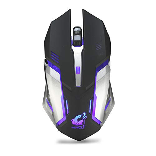 twbbt Gaming Mouse,Wireless LED Backlight USB Special Edition Gaming Mouse Windows XP, Vista, Win 7, Win 8, ME,2000 Mac OS ()