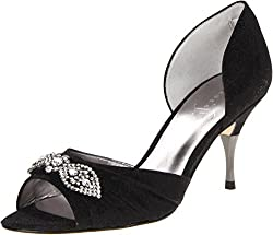 Onex Nanci White/Silver Womens Slide Size 6M