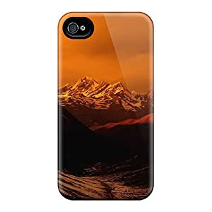Forever Collectibles Sunset On The Himalayas From China Hard Snap-on Iphone 4/4s Case