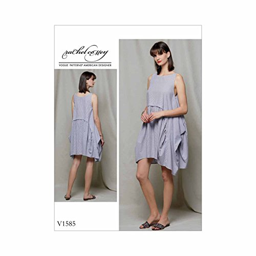 Vogue Rachel B COMEY lose Enganliegendes Kleid Größe LXXL ...