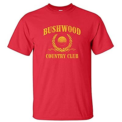 Bushwood Country Club Golf FUNNY vintage cart MENS T-SHIRT