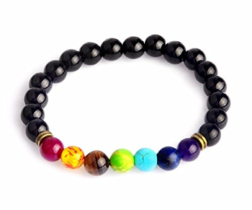 Hot Sale! Multicolor Tiger Eye Stone Black Resin Lava Beads Chakra Bracelets Wristband Bangles bijoux Rope Chain Women Men Jewelry (Style # (Bear Arms Costume)