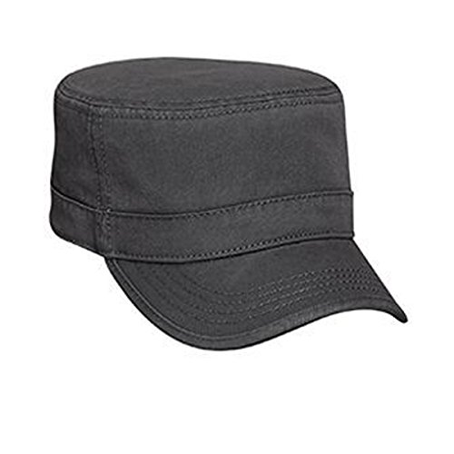 Trim Twill Visor (Otto Caps Superior Garment Washed Cotton Twill Binding Trim Visor Solid Color Military Style Cap)