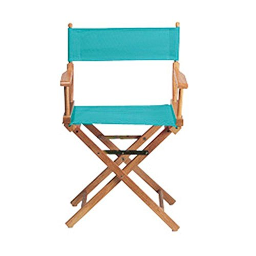 Teal Seat and Back for Director's Chair- Cover Only -