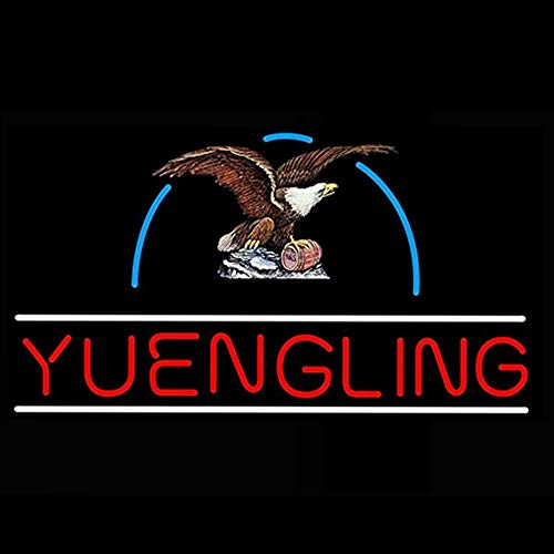 Yuengling Eagle Beer Bar Pub Store Party Room Wall Windows Display Neon Signs 19x15
