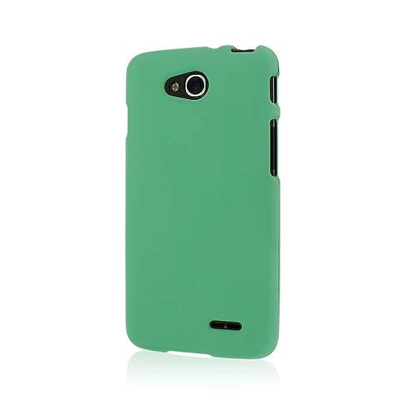 the best attitude dc2b3 7b557 LG Optimus L90 Case, MPERO SNAPZ Series Rubberized Case for LG Optimus L90  - Mint Green