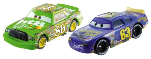 Diecast Chick - Disney Pixar Cars Collector Die-cast Chick Hicks & Lee Revkins 2-Pack