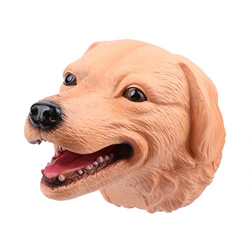 (Brightric Dog Head Hand Puppets Educational Puppet Toys Model Gifts Toy for Children)