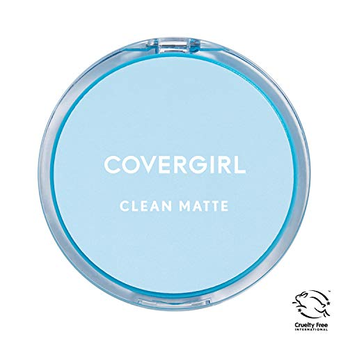 COVERGIRL Clean Matte Pressed Powder, Medium Light (Packaging May Vary) from COVERGIRL