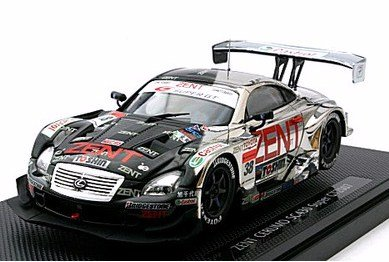 1/43 ZENT CERUMO SC430 SUPER GT500 2007 #38 (ブラック/シルバー) 「SUPER GT」 43908