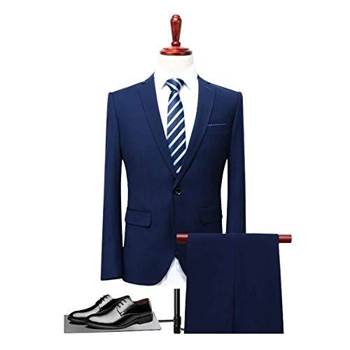Hommes Blue Travail Rlrl Culture Style Vêtements Affaires Soi Coréen Costumes Pour De Professionnels qSBxwS7EHC