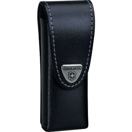 Victorinox SwissTool Leather Pouch, Black 33246, Outdoor Stuffs