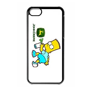 Exquisite stylish phone protection shell iPhone 5C Cell phone case for John Deere pattern personality design