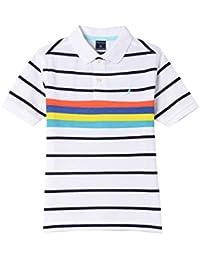 Boys' Polyester Polo Shirt