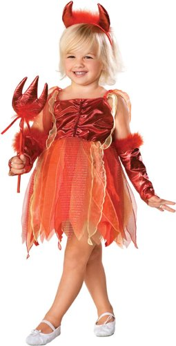 Child's Toddler Girl Devil Dress