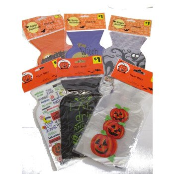 Halloween Treat Bags, 20Ct~ ( 6 Exciting Halloween Theme Prints Randomly Picked (Homemade Halloween Treats For Trick Or Treaters)