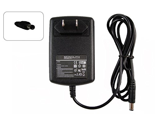 Price comparison product image Monolith Industry 24W Ac Adapter for DAB Radio Pure Evoke; One Classic; Ferguson; Digital Tv Box Sagem; Portable Tv Roadstar; Media Player Hp Personal Media Drive Charger Power Supply Cord