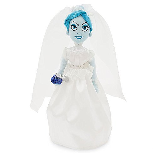 Disney Parks Exclusive Haunted Mansion Attic Bride In Wedding Dress with Axe Plush Doll - Exclusive Wedding Gown
