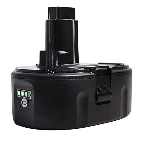Sankeup 5.0Ah Lithium-Ion Replace for Dewalt 18V Battery XRP DC9096 DC9098 DC9099 DW9095 DW9096 DW9098 DW9099 DE9039 DE9095 DE9096 DE9503 DE9098 DC9181 Cordless Power Tools ()