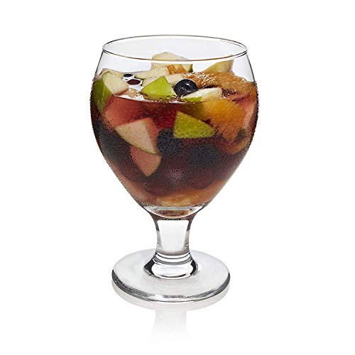 Libbey Classic Sangria Beer Glass, 19.25 Ounce - 4 Count (Sangria Glass)