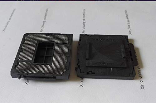 Davitu Connectors - LGA 1150 1151 1155 1156 2011 G34 771 775 1366 AM3B AM4 FM2 Motherboard Mainboard Soldering BGA CPU Socket holder with Tin Balls - (Color: LGA1151) (Motherboard Socket 771)