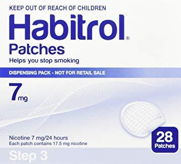 Patches Novartis Nicotine Transdermal System Stop Smoking Aid 28 Each (Step 3-7 Mg)