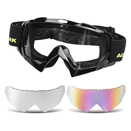 Motorcycle Helmets With Goggles - 2