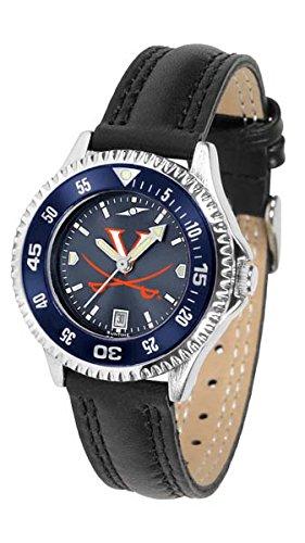 Virginia Cavaliers Ladies Sport Watch - Virginia Cavaliers Competitor AnoChrome Women's Watch - Color Bezel