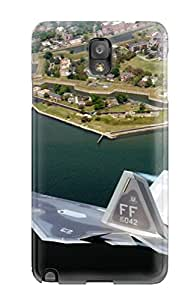 Galaxy Note 3 YkcyEnp16244IvwQF F22a Raptor Fa Over Virginia Man Made Aircraft Tpu Silicone Gel Case Cover. Fits Galaxy Note 3