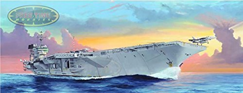 1/350 Trumpeter USS Kitty Hawk CV-63 Aircraft Carrier Plastic Model Kit by Trumpeter (Uss Kitty Hawk Cv 63 Model Kit)