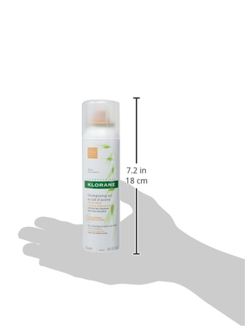 Klorane Dry Shampoo Amazoncom Klorane Dry Shampoo With Oat Milk Natural Tint
