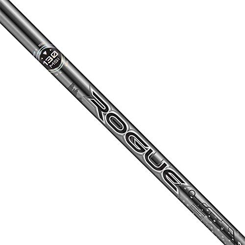 Aldila Rogue 銀 130 MSI 60 R-Flex Shaft + PXG ドライバーチップ + グリップ