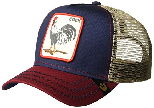 Goorin Bros. Men's Animal Farm Baseball Dad Hat Trucker, Navy, One Size (Birthday Message For A Husband And Dad)