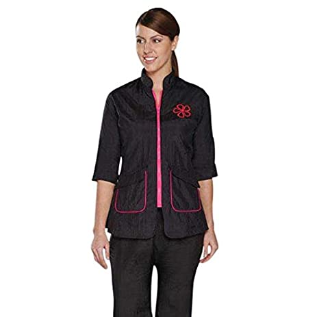 Stylist Wear Groom ¾ Sleeve Pet Jacket   Stylish, Comfortable, And  Versatile Grooming Jackets