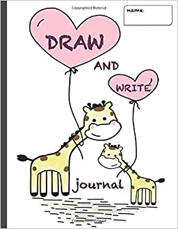 Amazon Com Draw And Write Journal Writing Notebook For Kids With