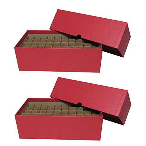 (Coin Roll Box for 50 Rolls or Tubes of Cents by Guardhouse Two Pack)