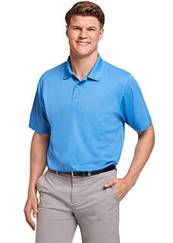 Russell Athletic Men's Dri-Power Performance Golf Polo, Collegiate Blue, XL