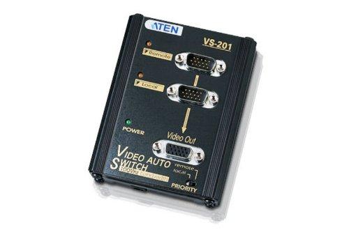 ATEN 2-Port VGA Auto Switch VS201 (Black)