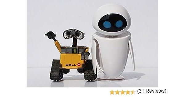 WALL E - SET 2 FIGURAS EVE & WALL.E EN BLISTER / 2 FIGURES SET ...
