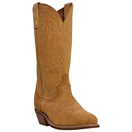 "Laredo Western Boots Mens Drew 13"" Round Toe 10 D Natural Tan 68216"